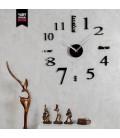 ساعت دیواری نامبر (مشکی)
