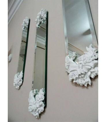 قاب آینه دکوراتیو لوکس طرح پاپیون
