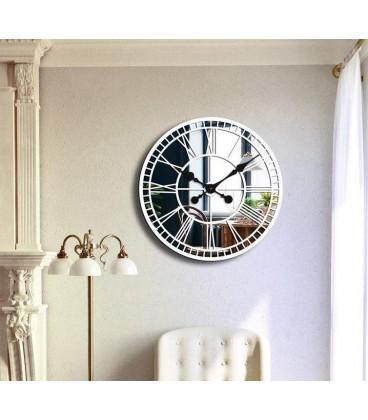 ساعت دیواری کلاسیک مدل گراند (سفید) |