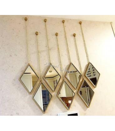 قاب و آینه تراش طرح شاین (5 عددی)