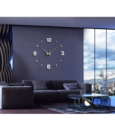 ساعت دیواری طرح برلین (نقره ای)
