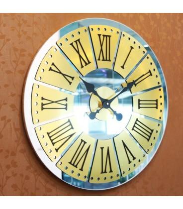 ساعت دیواری آینه ای طرح هلیا
