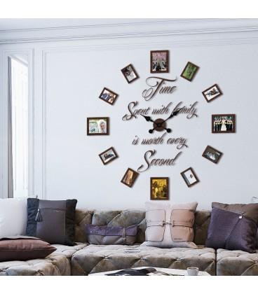 ساعت دیواری قاب عکسی Family