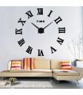ساعت دیواری لئوناردو (مشکی)