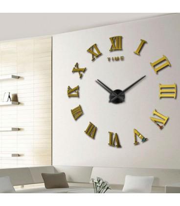 ساعت دیواری لئوناردو (طلایی)