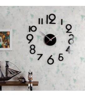 ساعت دیواری طرح لیدیا (مشکی)