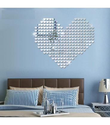 مجموعه آینه قلب فانتزی (توپر)