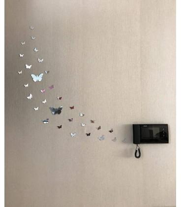 آینه پروانه ای طرح پرواز خیال
