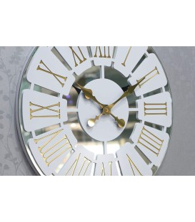 ساعت دیواری آینه ای طرح مارال
