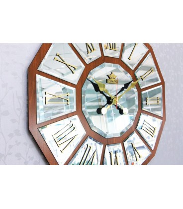 ساعت دیواری آینه ای ونیزی مدل ونوس