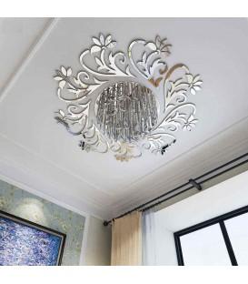 آینه سقفی تزئینی مدل گلستان