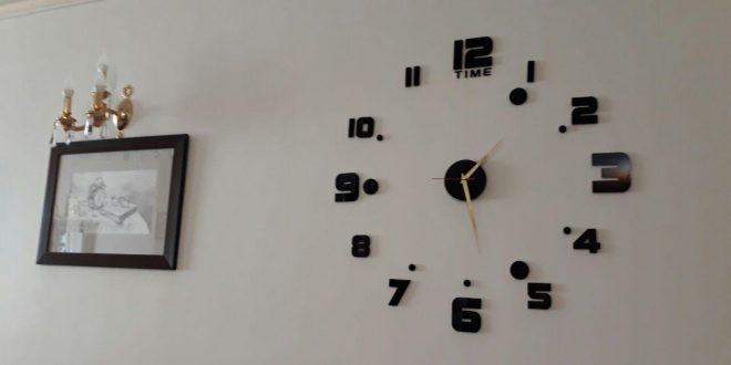 طریقه نصب ساعت دیواری های فانتزی
