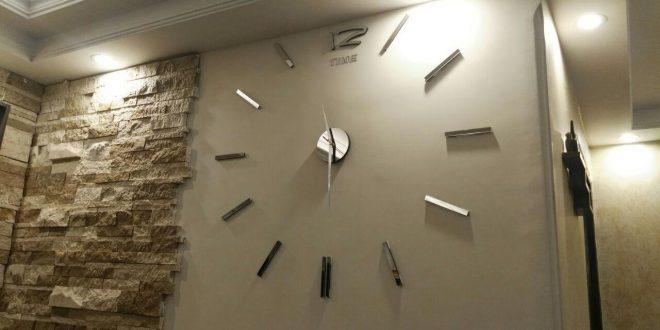 نمونه کارهای ساعت و استیکر دیواری + تصویر
