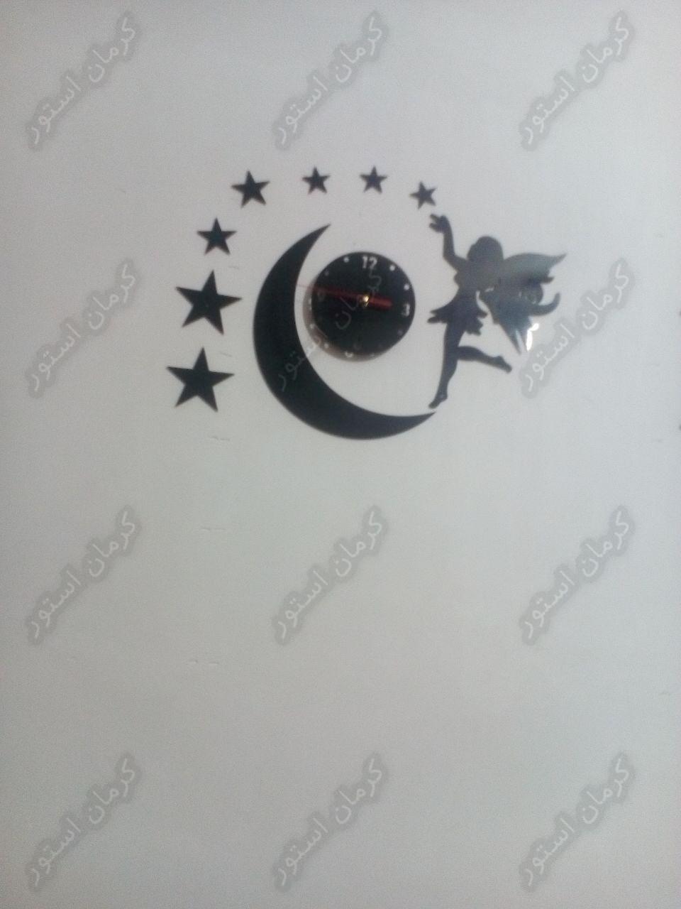 نمونه سفارش ساعت دیواری طرح آنجل