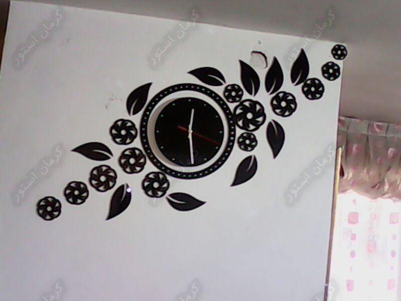 تصویر سفارش ساعت دیواری طرح سورنا از مشتری های کرمان استور