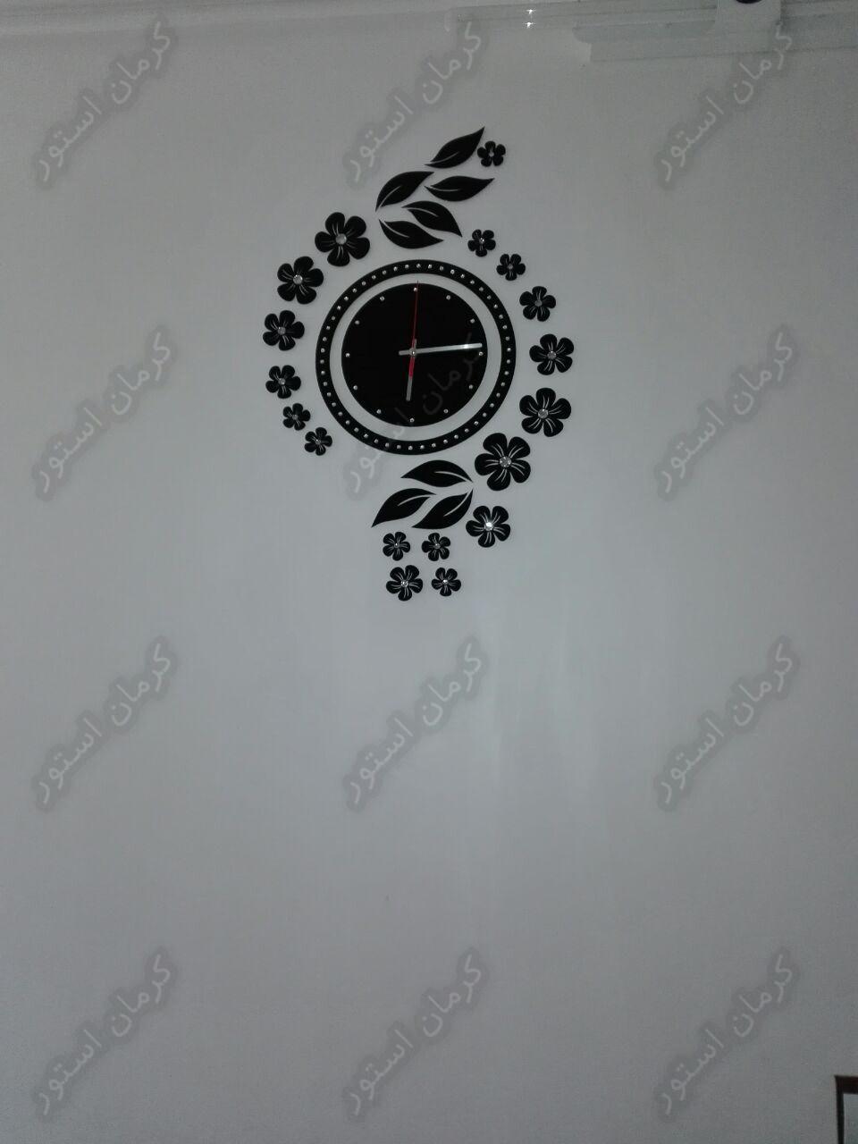 تصویر سفارش مشتری, ساعت دیواری طرح نیلوفر