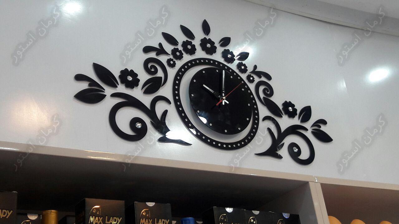 تصویر سفارش ساعت دیواری طرح گلشیفه از مشتری های کرمان استور