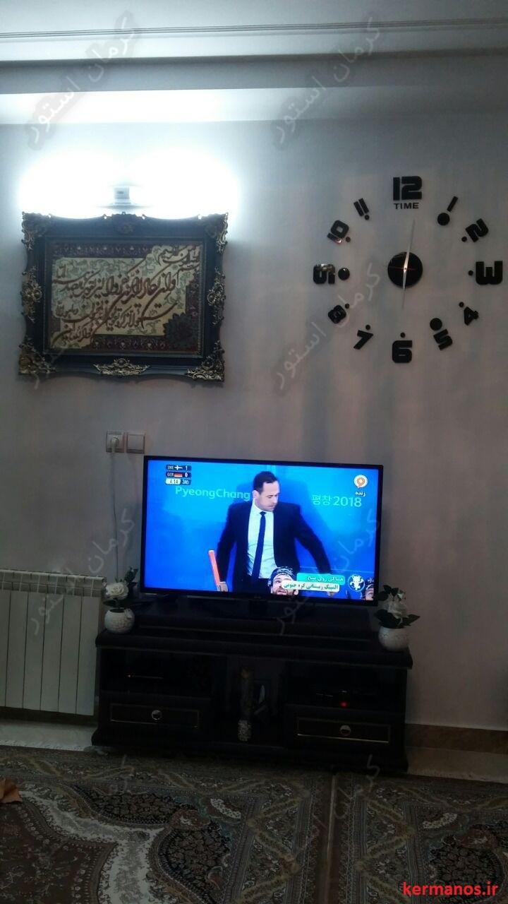 سفارش ساعت دیواری طرح ریتم اقای محمدی